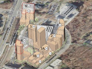 Over 2,000 Residences and a Central Park: The Plans for Upper Rockville Pike