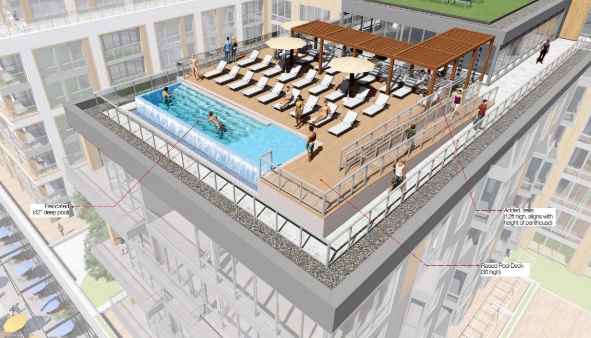 More Glass, More Rocks and a Refined Restaurant Terrace for Buzzard Point Coast Guard Redevelopment: Figure 3