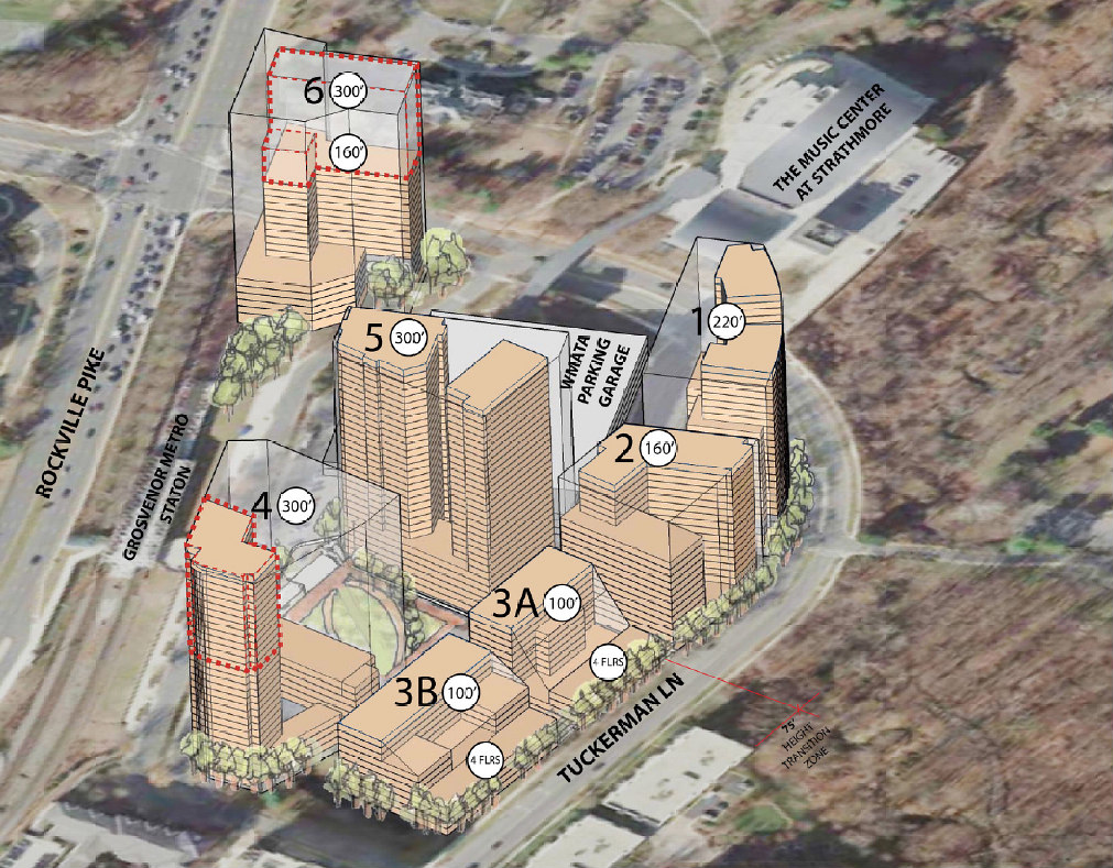Over 2,000 Residences and a Central Park: The Plans for Upper Rockville Pike: Figure 2