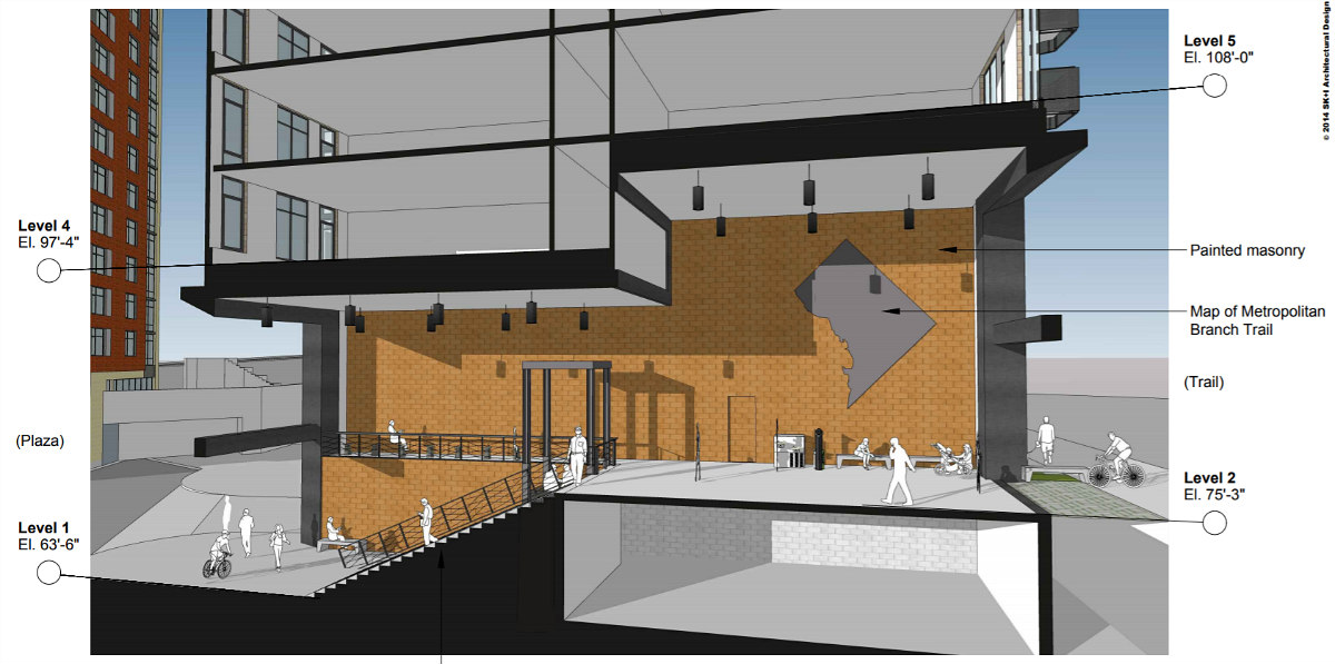 241 DC Apartments Proposed Atop a Trail Lobby Near Union Market: Figure 4