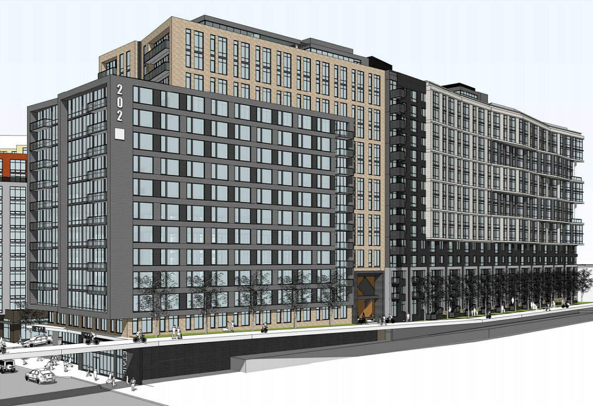 241 DC Apartments Proposed Atop a Trail Lobby Near Union Market: Figure 1