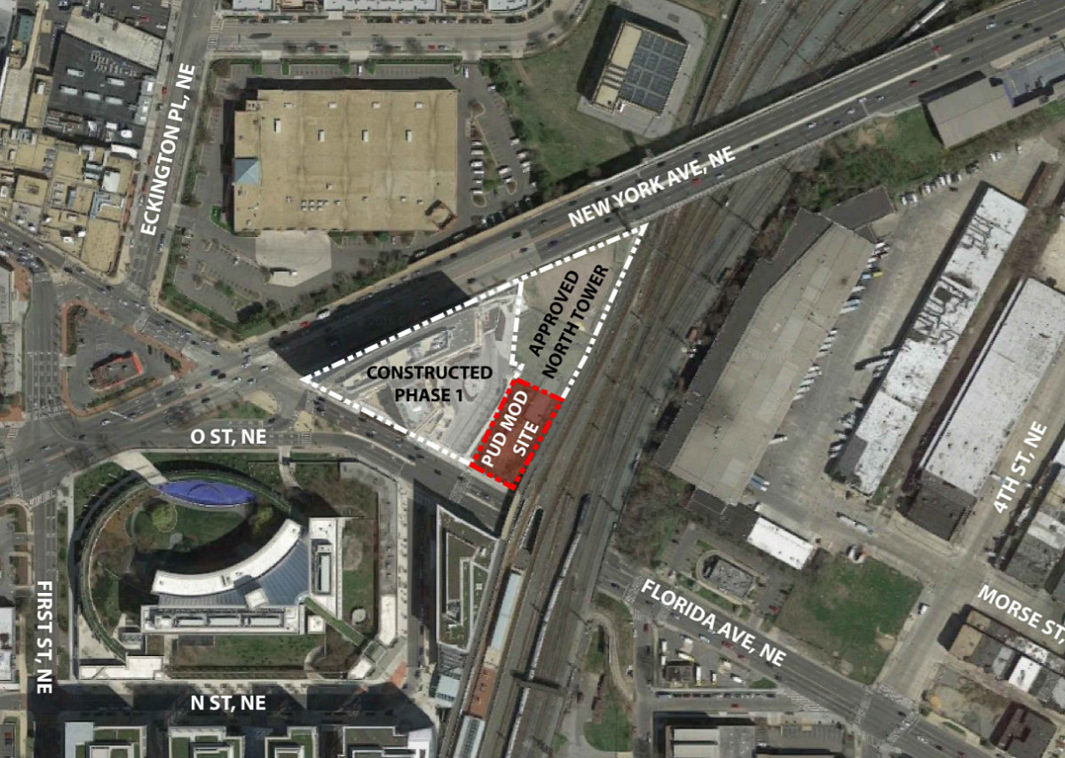 241 DC Apartments Proposed Atop a Trail Lobby Near Union Market: Figure 2