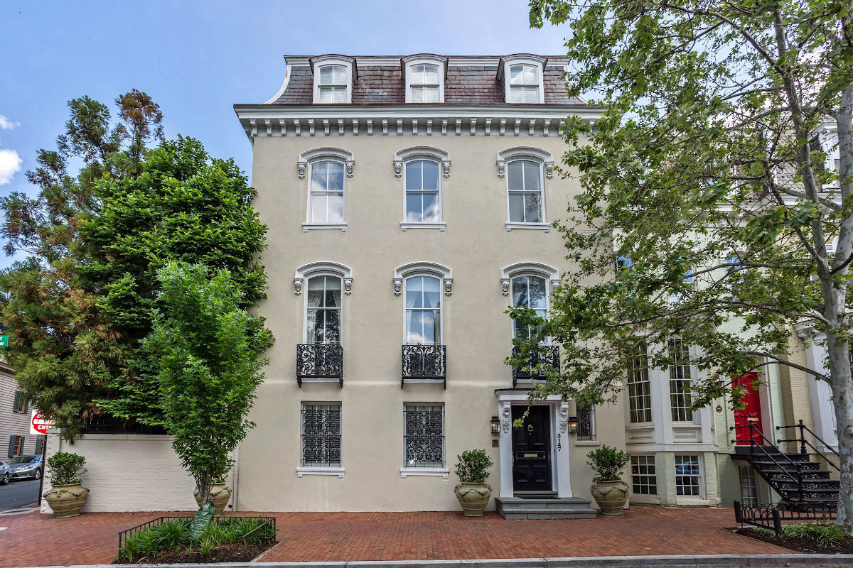Former AOL Executive Lists Georgetown Home For $7.4 Million: Figure 1