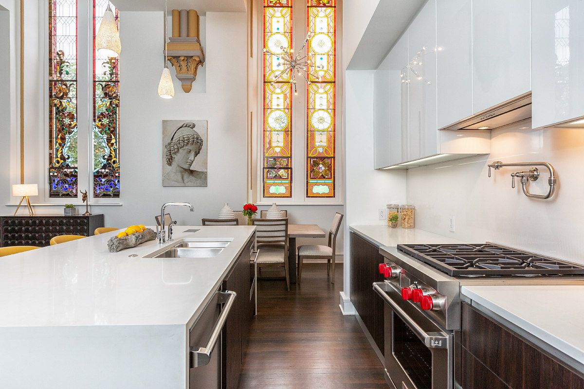 A Look Inside a True Church-to-Residential Conversion on Capitol Hill: Figure 3