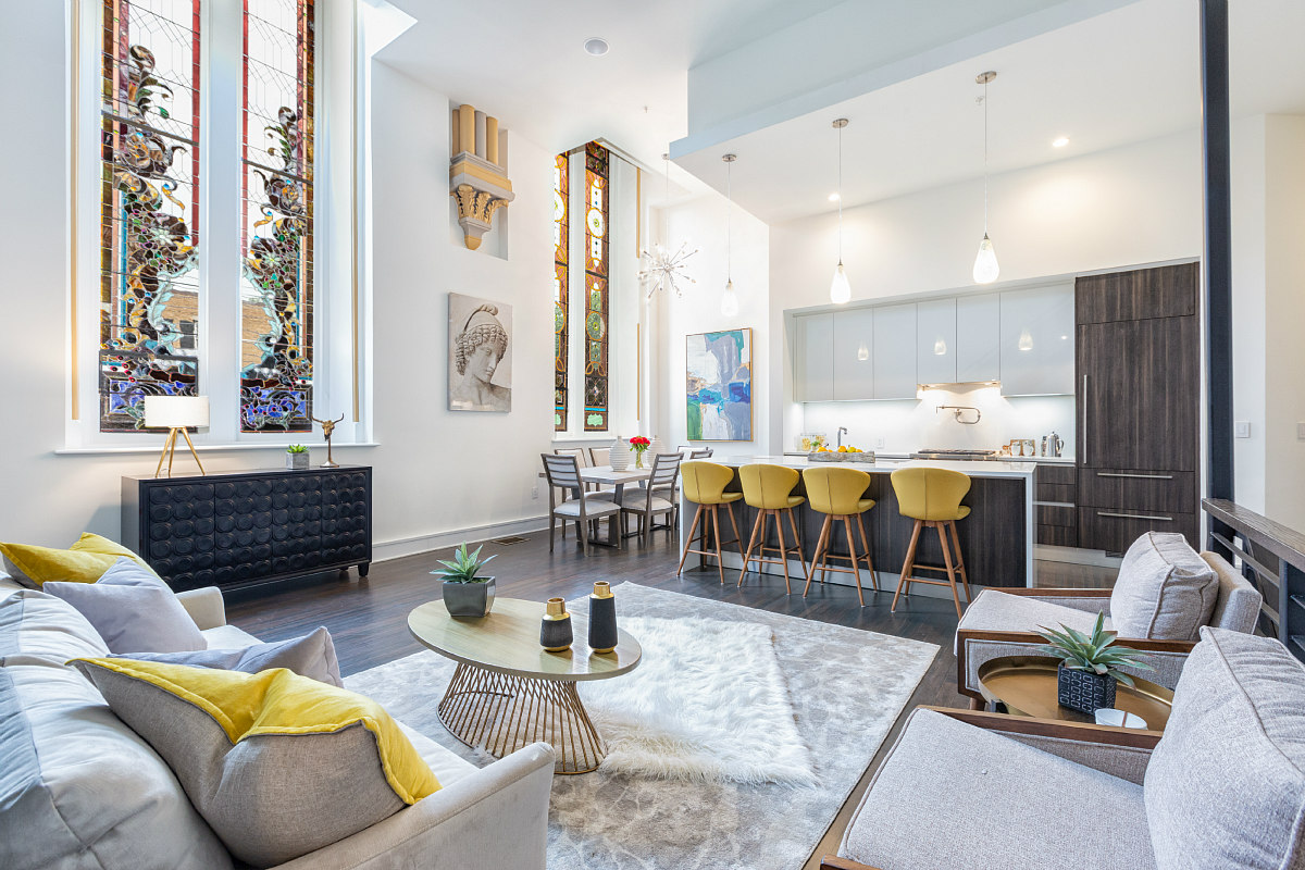A Look Inside a True Church-to-Residential Conversion on Capitol Hill: Figure 2