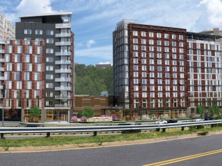 Hotel, Apartments and Gourmet Grocer Coming to Rosslyn's Best Western Redevelopment