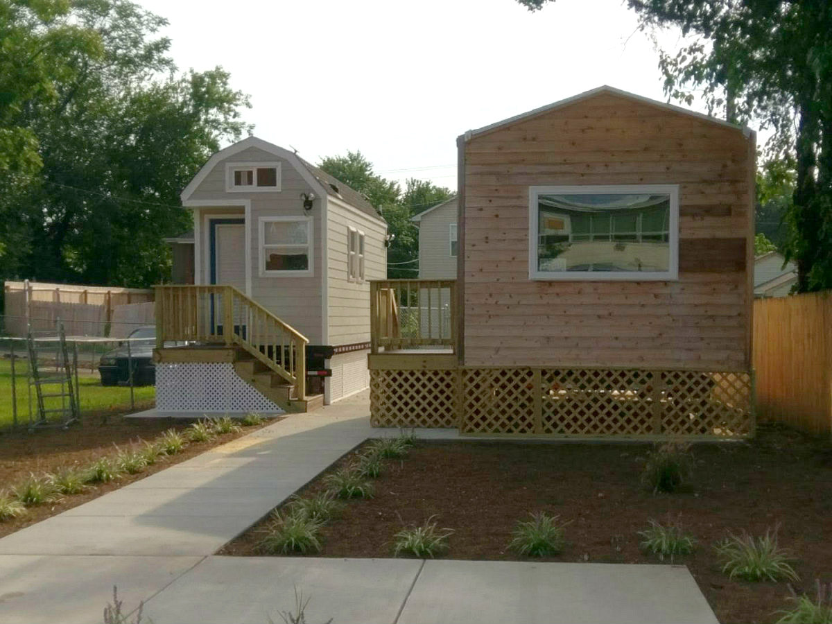 DC Debuts Tiny Homes in Deanwood