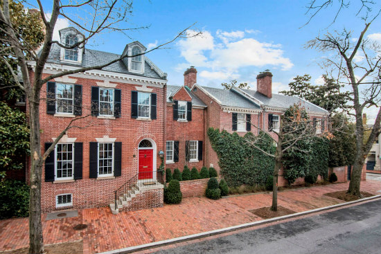 A $1 Million Staircase and a Whiskey Cellar: Inside Kevin Plank's $29 Million Georgetown Home: Figure 1