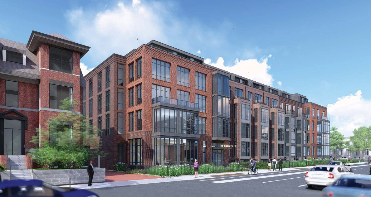 A First Look at the 150 Apartments Planned for Scottish Rite Site on 16th Street: Figure 2