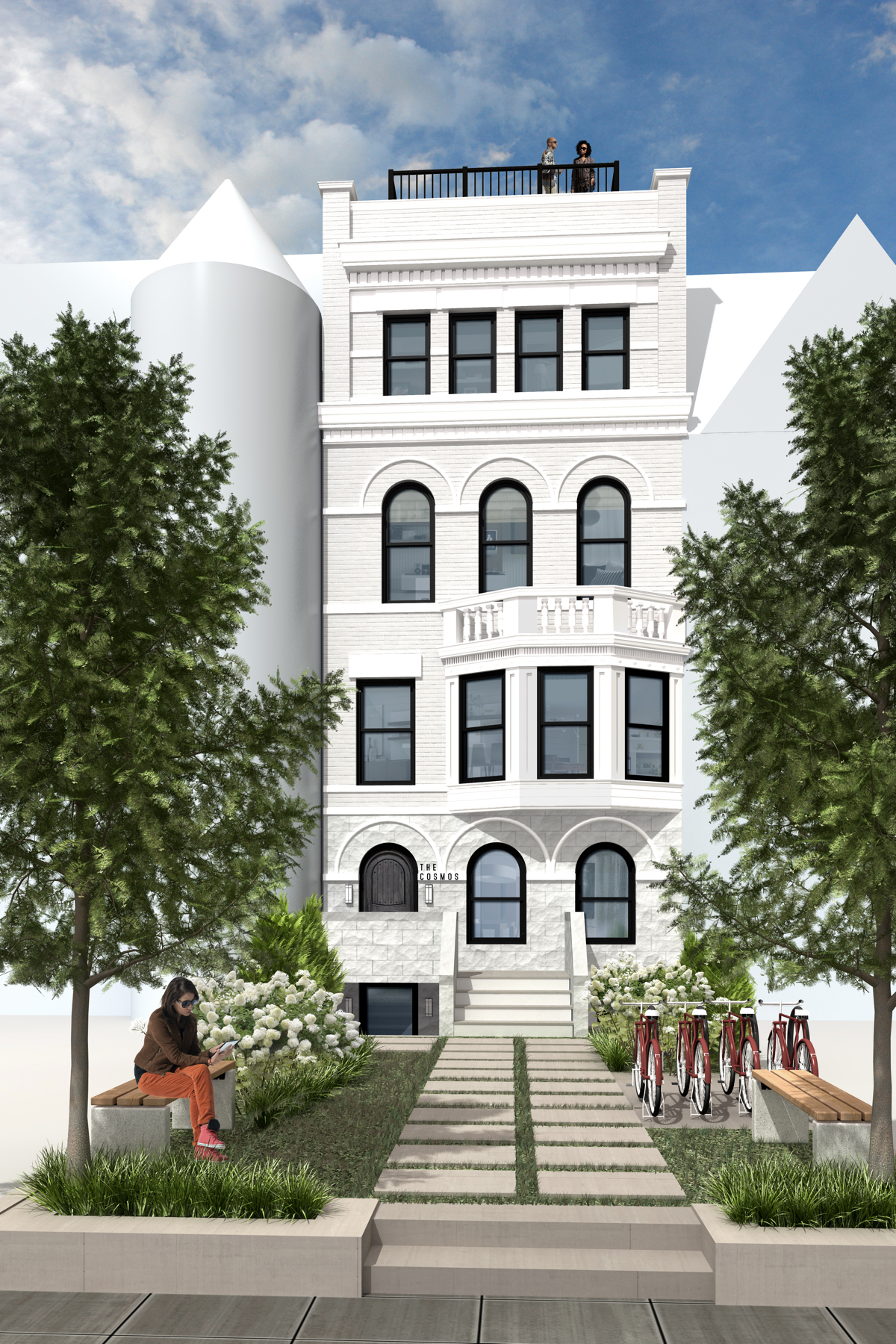 A Historic 16th Street Townhome Becomes Four European-Inspired  Condos: Figure 3