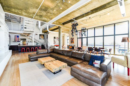 Best New Listings: An Industrial Adams Morgan Loft with a House-Sized Roof Deck: Figure 1