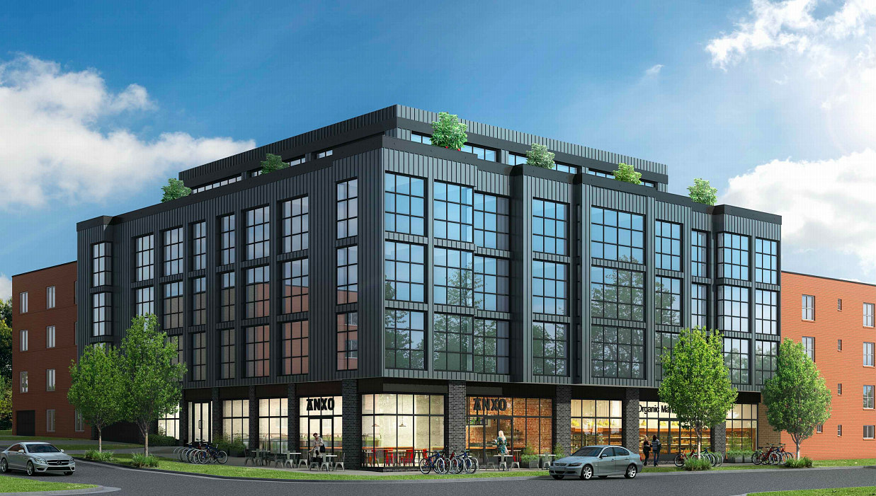 46 Apartments and an Anxo Cider Cannery Planned For Manor Park: Figure 1