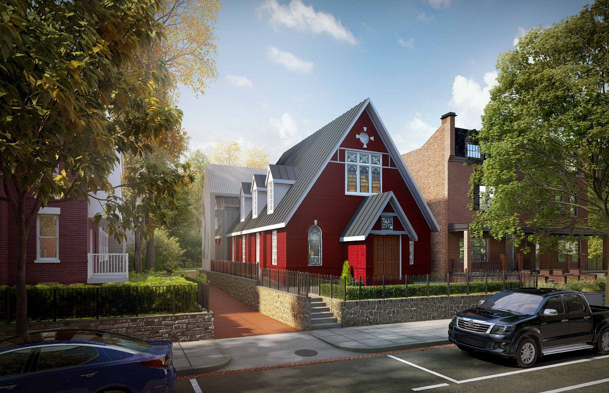 An Unconventional Church-to-Residential Conversion on Capitol Hill: Figure 1