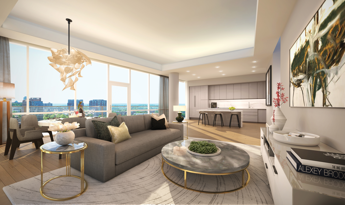 Above The Clouds An Ultra Sophisticated Condominium High