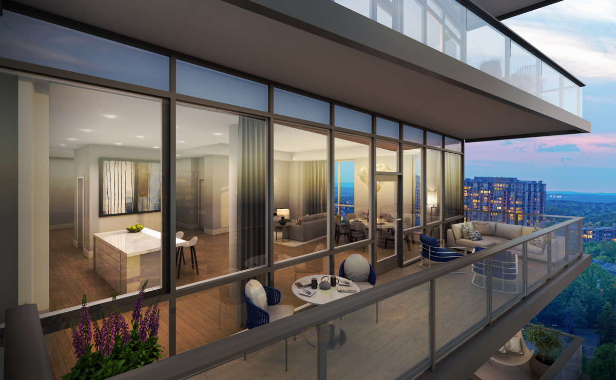 Above The Clouds An Ultra Sophisticated Condominium High Rise Comes To Tysons