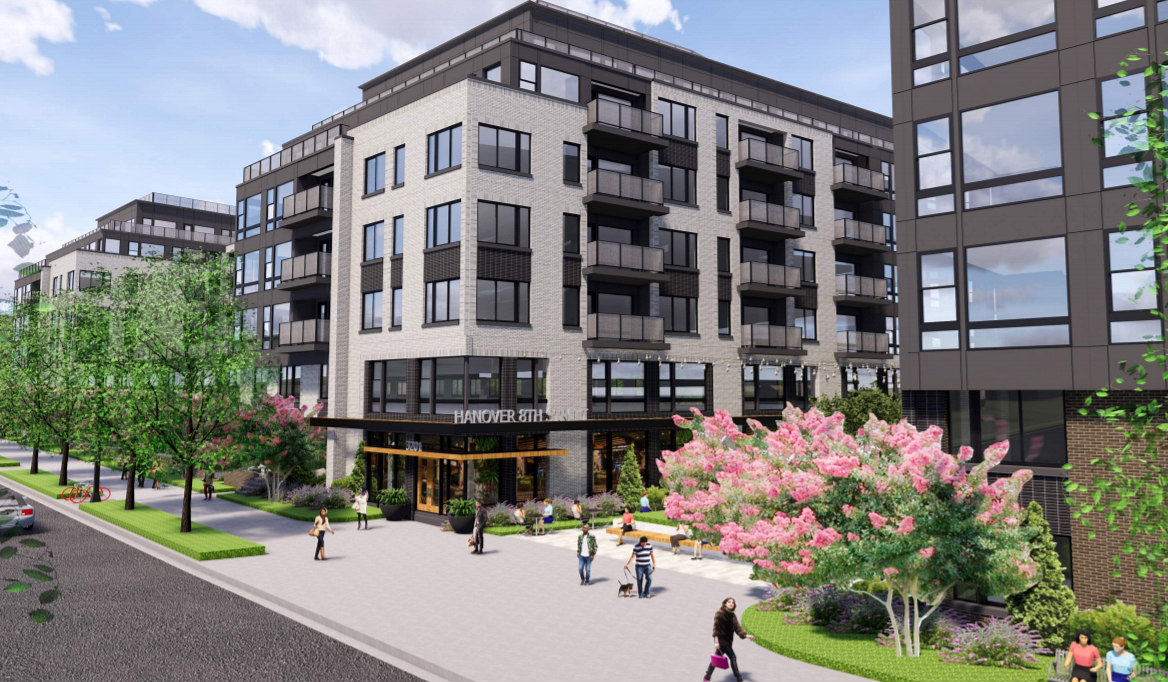 375 Apartments and a Public Plaza: The Proposal for a Familiar Site in Brookland: Figure 1