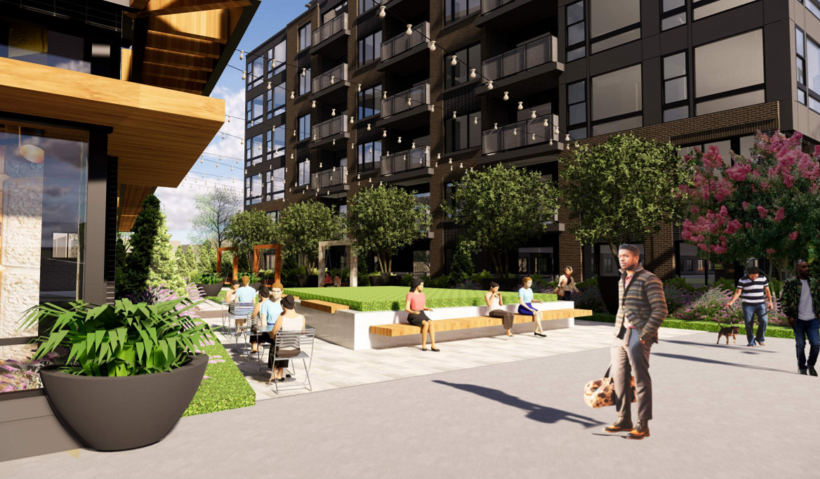 375 Apartments and a Public Plaza: The Proposal for a Familiar Site in Brookland: Figure 3