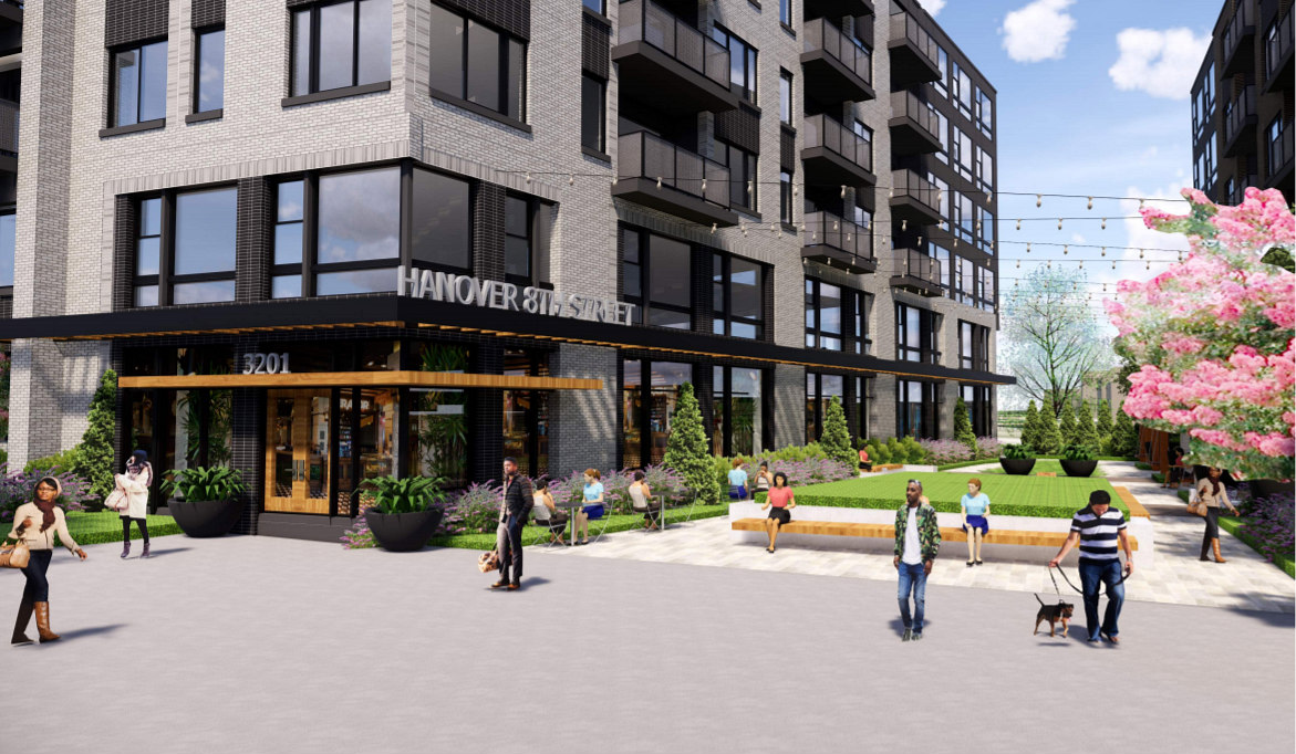 375 Apartments and a Public Plaza: The Proposal for a Familiar Site in Brookland: Figure 6