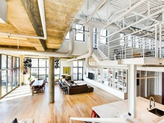 Best New Listings: An Industrial Adams Morgan Loft with a House-Sized Roof Deck