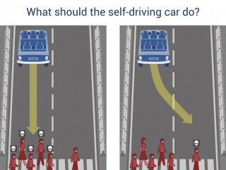 MIT Applies the Trolley Problem to Driverless Cars