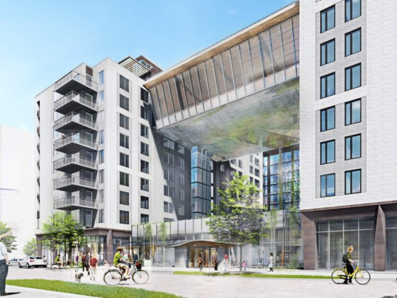 348 Apartments and a Fitness Bridge: The Plans for the Newest Phase of The Yards