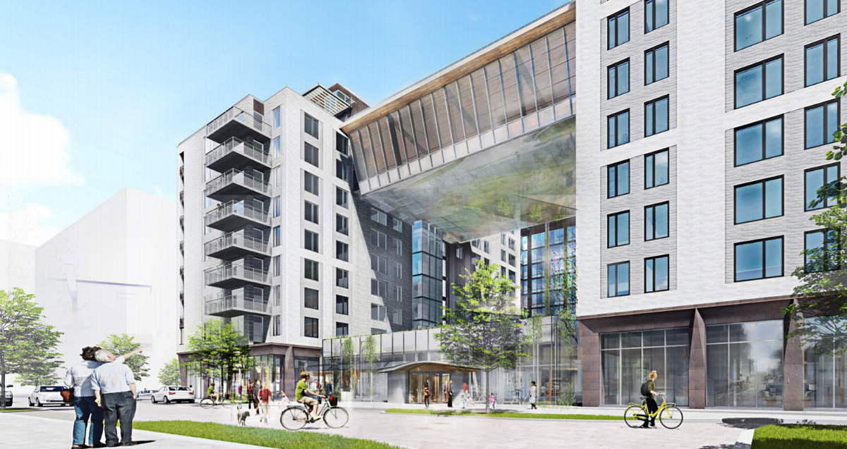 348 Apartments and a Fitness Bridge: The Plans for the Newest Phase of The Yards: Figure 2