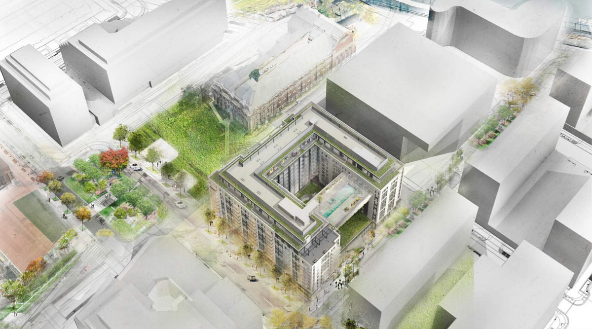 348 Apartments and a Fitness Bridge: The Plans for the Newest Phase of The Yards: Figure 1
