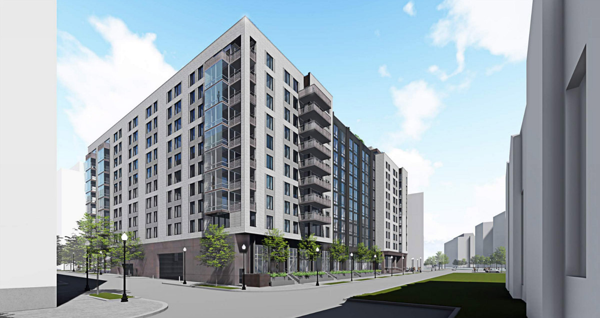 348 Apartments and a Fitness Bridge: The Plans for the Newest Phase of The Yards: Figure 3