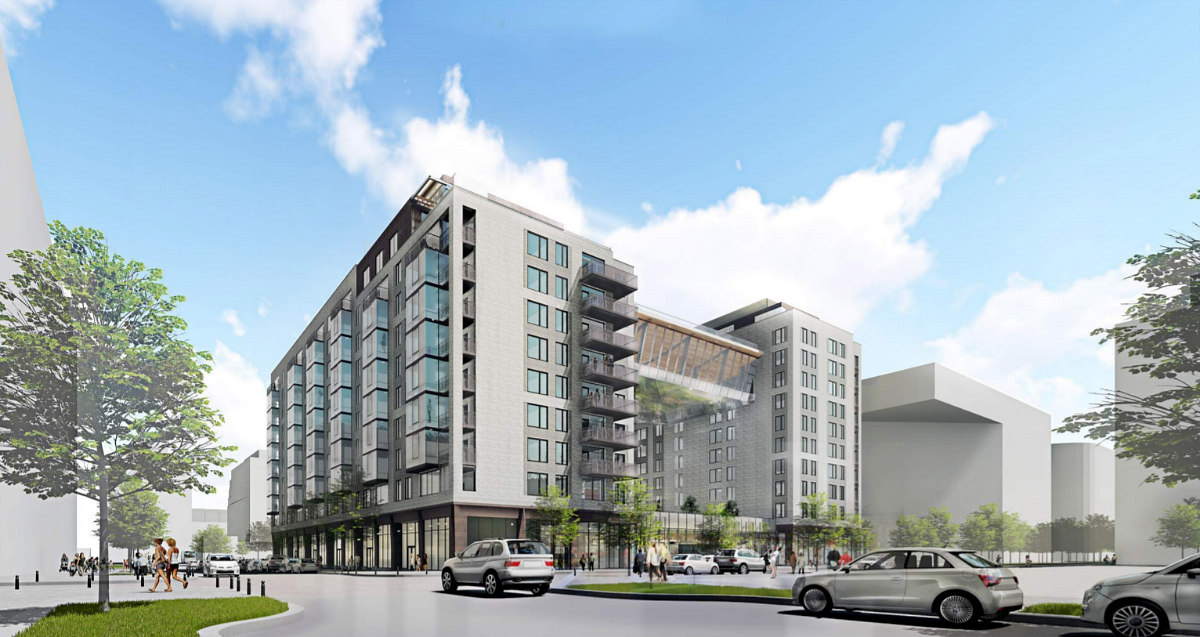 348 Apartments and a Fitness Bridge: The Plans for the Newest Phase of The Yards: Figure 4
