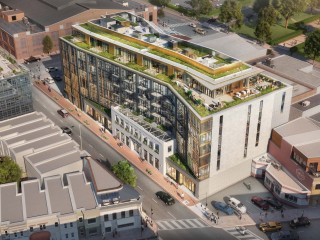 Ground Breaks on the 132 Apartments at Town Nightclub Site