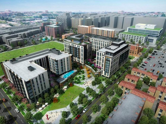 1,100 Units and Park Space: A First Look at the Sursum Corda Redevelopment