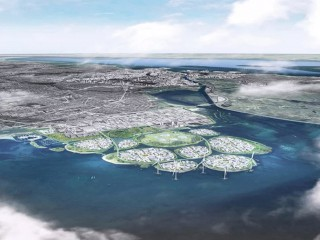 A Climate Change Solution in Copenhagen: Nine New Islands