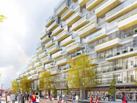 The 4,200 Units Slated for East of South Capitol Street