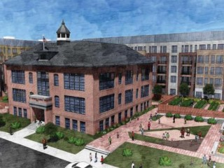 New Plans for Ivy City's Crummell School Include Invisible Fish and More Public Space