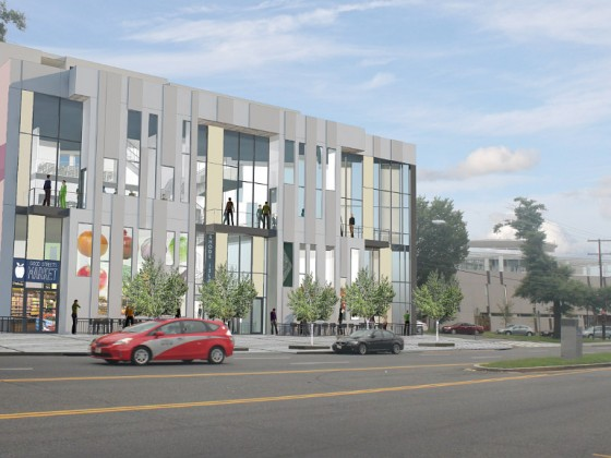 New Development on Rhode Island Avenue Could Have Restaurant, Grocery and Coworking