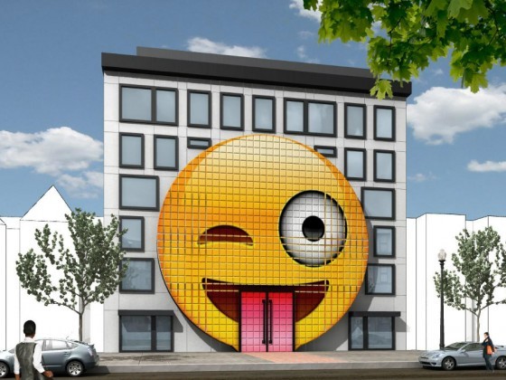 Nothing is Out of Bounds: DC's Planned 25-Unit Emoji Building
