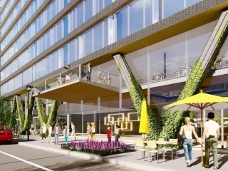 A Closer — and Less Vertical — Look for Union Market's Newly Proposed Office Building