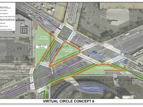 The Plans to Redesign Dave Thomas Circle