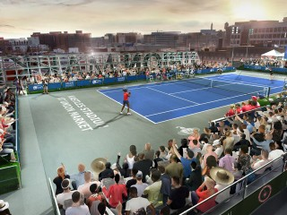 Overhead Service? DC's Pro Tennis Team Confirms Plans to Play Atop Union Market
