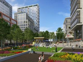 At Tysons' Verse Condominium, Green Spaces, Metro Access & Total Walkability