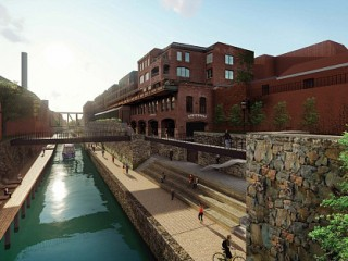 Water Hammocks, a Mule Yard and Gongoozling: The New Concepts for the Georgetown Canal