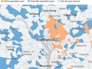 The DC Neighborhoods Where White Homebuyers' Income is Double That of Existing Residents