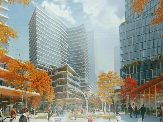 840 Apartments, Creative Office and a Restaurant Row: The Plans for Pentagon City TSA Site
