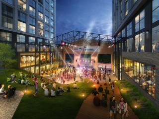 450 Units, 156 Hotel Rooms and a Public Park: The Plans  for a Prime Howard University Site