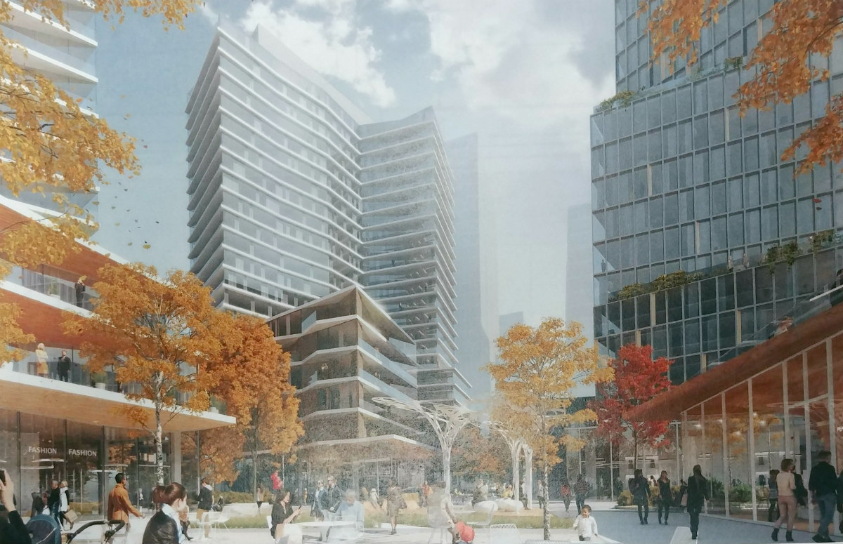 840 Apartments, Creative Office and a Restaurant Row: The Plans for