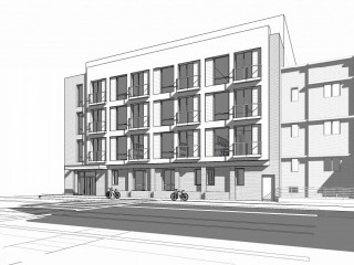 A New 41-Unit Development Proposed Along Bladensburg Road