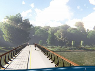 A Look at the Plans For a Bridge Between the Arboretum and Anacostia Waterfront