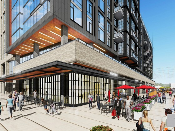 300 Units and a Public Plaza: The Plans for Union Market's Sister Building