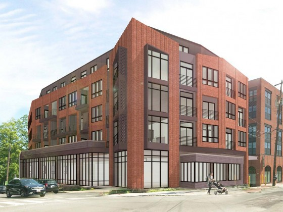 A New Look for 37-Unit Development Planned at Takoma Metro