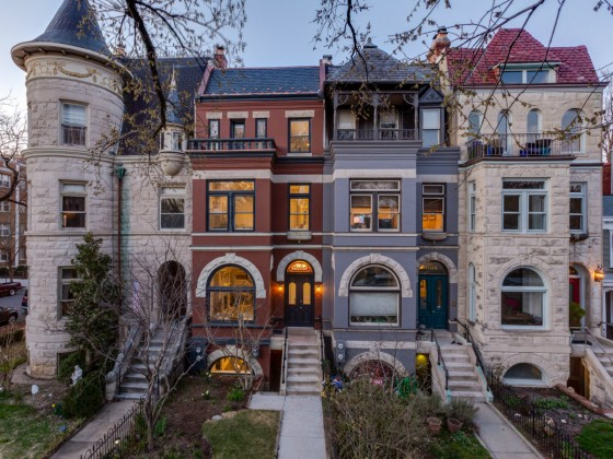 A Stylishly Renovated East Capitol Street Rowhouse Hits the Market